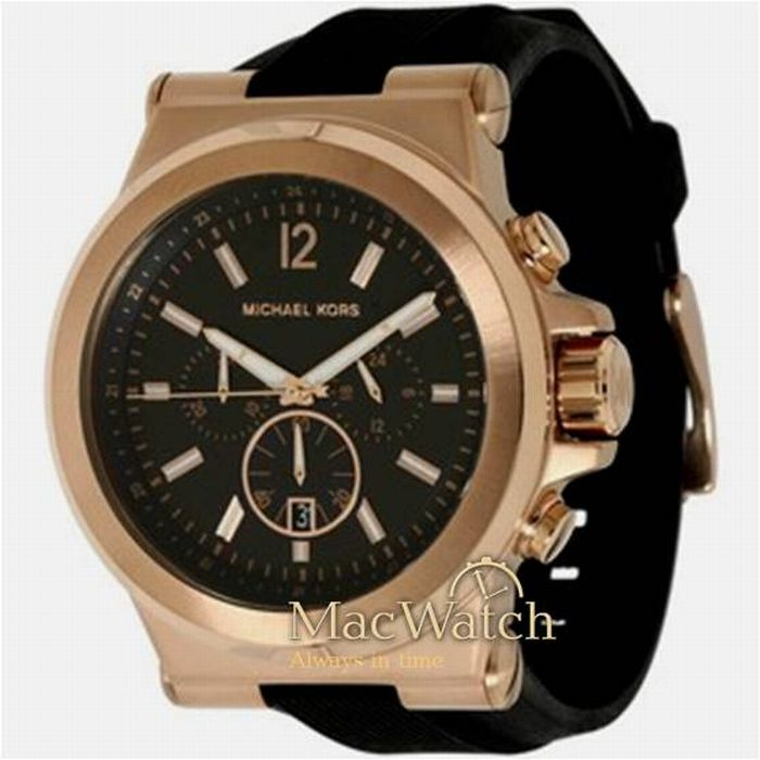 michael kors herren uhr mk8184 chronograph neu ovp. Black Bedroom Furniture Sets. Home Design Ideas